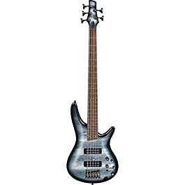Ibanez SR305E BPM Black Planet SR Standard 5-String Bass Guitar w/Hard Case and
