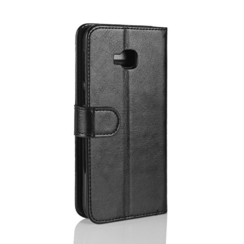 Cover Wallet HualuBro Zenfone PU Handmade Selfie Case with Card Asus Slots Black 4 ID Case Brown Retro Zenfone Leather Premium Flip ZD553KL Selfie ZD553KL Phone Protective 4 Credit for 6r6BY