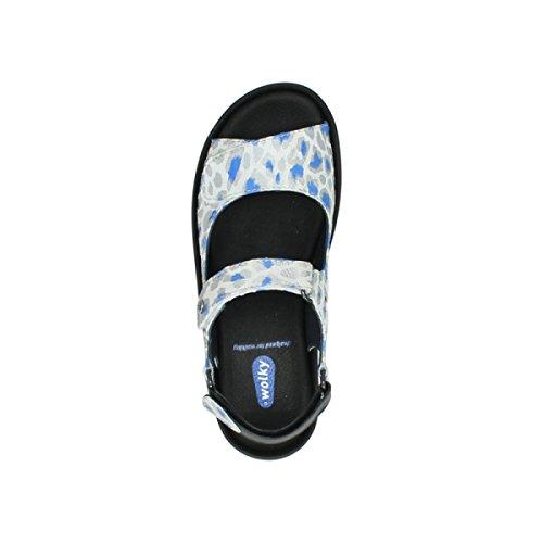 Wolky 4726 Fly winter - Zapatos de cordones para mujer 92128 offwhite-blue