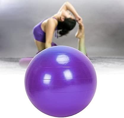 GOTOTOP Grande 75cm Ejercicio de Yoga Pelota de Gimnasio Antideslizante Aptitud Abdominal Anti Estallido