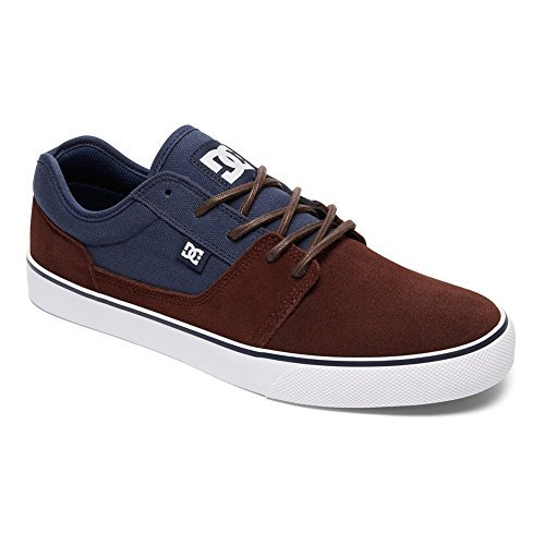 DC Männer Tonik Skate Schuh Marine / dunkle Schokolade