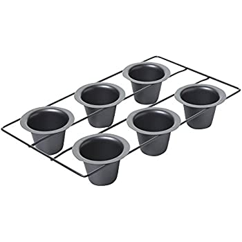 Amazon Com Chicago Metallic Professional 6 Cup Popover