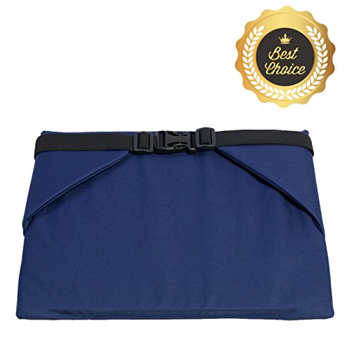 Comfort Pad with Fixation & Regulation | Seat Cushion Oxford Hydro-Insulation Fabric & Soft Layer 100% High density Foam, Size 14