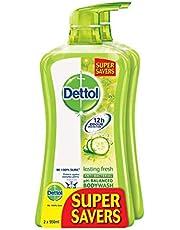 Dettol Body Wash, Lasting Fresh