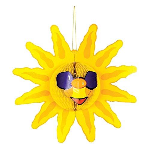 Fun Express Tissue Sun Decoration (Office Summer Decorations)