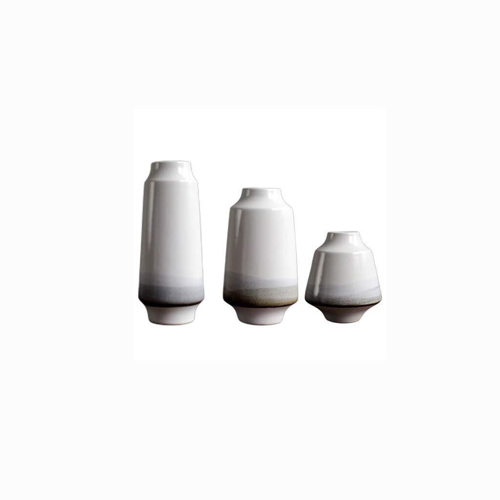 新しい中国のセラミック花瓶のリビングルームの装飾セット QYSZYG B07RF64H71