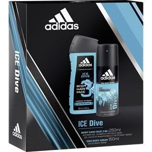 cc6b35d58b48 ADIDAS ICE DIVE COFANETTO REGALO DOCCIA 250ML + DEODORANTE 150ML:  Amazon.it: Bellezza