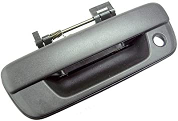 Tailgate Handle for GMC Colorado 04-12 Outside Textured Black