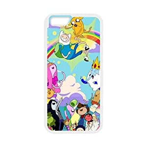 """Hjqi - Customized Jake and Finn Adventure Time Phone Case, Jake and Finn Adventure Time Custom Case for iPhone6 4.7"""""""