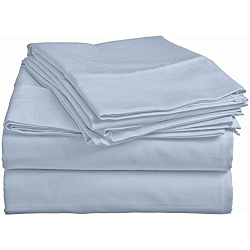 bed sheet setdeep pocket quality4 piece polycotton blend wrinkle fade and stain by pacific linens