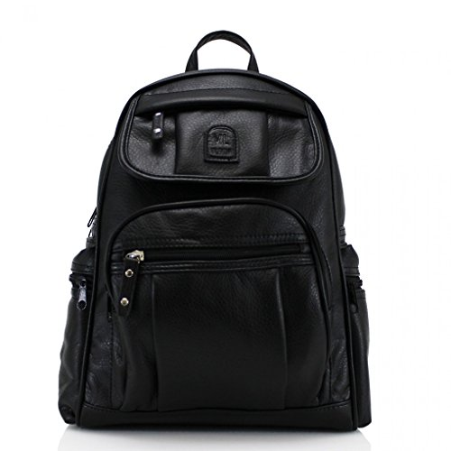 Handbags School LeahWard W26cm x BLACK Quality Women's Designer H38cm Bag Backpack x D15cm Rucksack Nice 186 Girl's Bags Ladies vprqvawP
