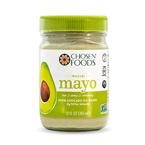 Chosen Foods, Mayo Avocado Oil Wasabi, 12 Ounce