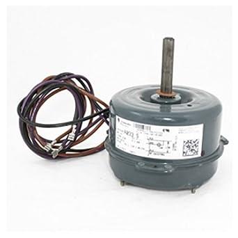 Oem upgraded ge genteq 1 6 hp 230v condenser fan motor for Dc motor air conditioner