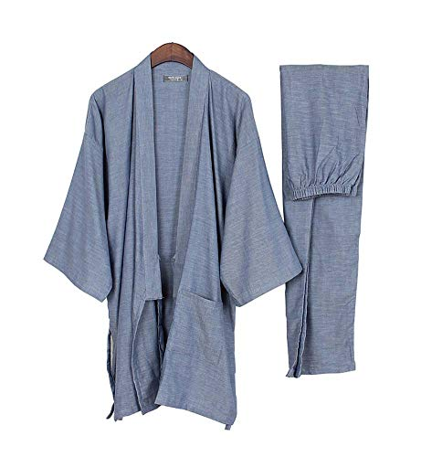 DRAGON SONIC Spring and Autumn Men's Cotton Pajamas Japanese-Style Clothing Suits,T4
