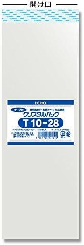 業務用 ヘイコー OPP袋 テープ付き クリスタルパック T 10-28 11000枚