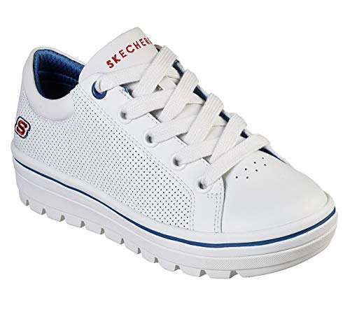 Skechers Street Cleat Freshest Womens Sneakers White 8 ()