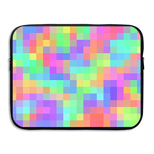 Drop-proof Laptop Sleeves Watertight Computer Protective Bags Colorful Plaid Mosaic Notebook Liner Package Tablet Case For MacBook Air Pro Ultrabook Dell Samsung 15 (Mosaic Protective Case)