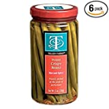 Tillen Farms - Crispy Picked Green Beans, Hot & Spicy - 12 oz (Pack of 6)