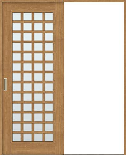 ラシッサS 室内引戸 Vレール方式 片引戸 標準タイプ ASKH-LGS 錠なし 1320 W:1,324mm × H:2,023mm ノンケーシング / ケーシング LIXIL リクシル TOSTEM 本体/枠色:クリエラスク(LL) 勝手:左勝手 枠種類:115mm幅(ノンケーシング枠) 引手:引手(シャインニッケル) 敷居:埋込敷居(A枠) 機能:ブレーキ LIXIL リクシル TOSTEM トステム