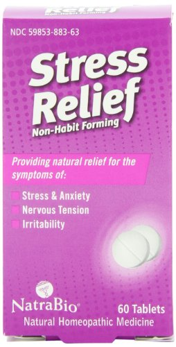Natrabio Stress Relief Tablets, 60 Count ()