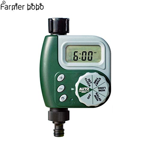Inf液晶自動散水庭タイマーホース灌漑スプリンクラー制御ワッシャーデザイン散水タイマー自動再起動イリガート B07Q31GQHG