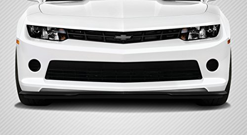 Gmx Front Lip Spoiler - Carbon Creations ED-YWB-329 GM-X Front Lip Under Air Dam Spoiler - 1 Piece Body Kit - Compatible For Chevrolet Camaro 2014-2015