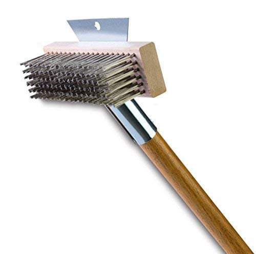 Malish BQ Broiler Queen Grill Brush-SS