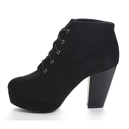 Forever Camille-86 Women's Stacked Up Ankle