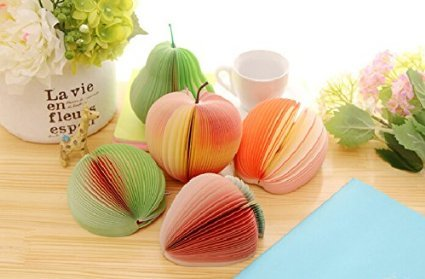 2pcs Cute Sticky notes Post it Creative DIY fruit Memo pads kawaii Stickers paper korean stationery Office Papelaria Supplies