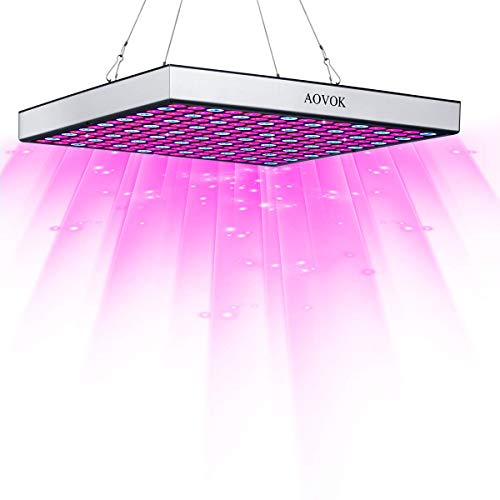 LED Grow Light Bulbs, AOVOK Grow Lamp Plant Light Panel Full Spectrum for Plants, Indoor Garden, Vegetable, Flowers, Fruits, Succulents, Seedlings Starting