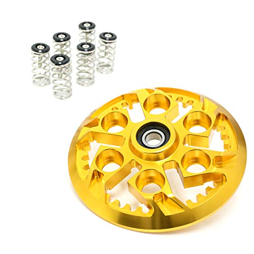- For Ducati Monster 600 750 Multistrada 1000 1100 S SuperSport Gold Black Billet Swheel Clutch Pressure Plate Springs Set
