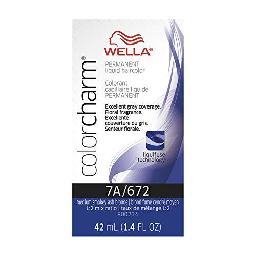 7 Charm - Wella Color Charm Liquid 7a Med Smokey Ash Blon, 1.42 oz.