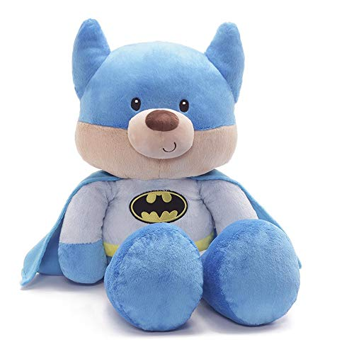 GUND Jumbo Fuzzy Blue Batman Plush Stuffed Bear 25