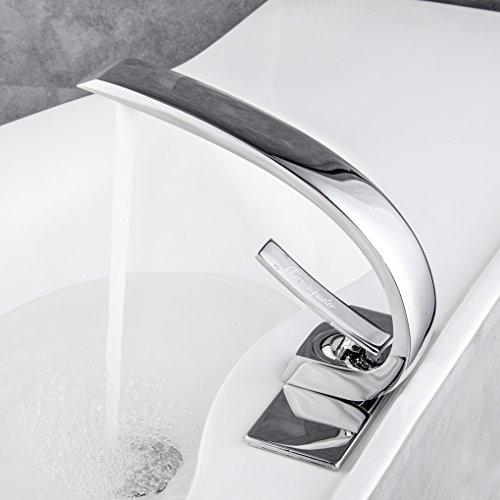 Charmingwater Bathroom Vanity Sink Faucets, Single Handle Bathroom ...