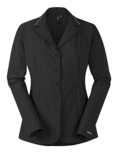 Kerrits Ladies Stretch Comp Koat 1X Black Stripe
