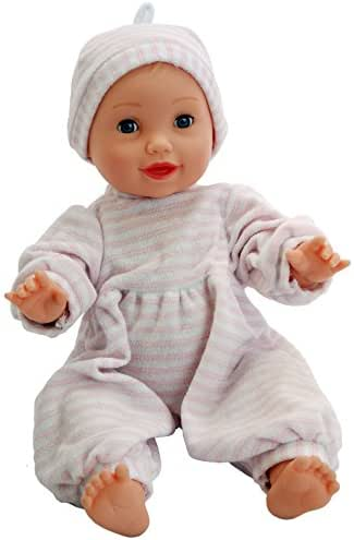 """DH Beacon Dementia Therapy Doll, 16"""" - Weighs 3 lbs. Provides Comfort for Patients with Alzheimer's Disease & Dementia, Aids in Communication, Social Interaction & Stress Reduction"""