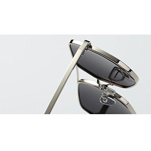Couleur Chaude Mode Driver de polarisées B Homme Mirror de Lunettes HGyanjing Miroir Lunettes Lunettes Protection Pêche Lunettes B de UV Soleil Soleil H5nqd