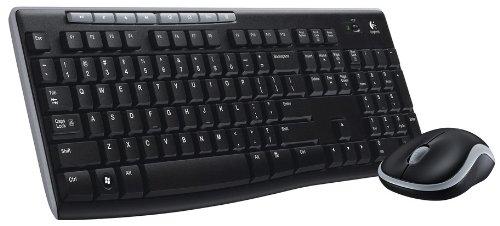 Logitech MK Pack de teclado y ratón  GHz inalámbrico Windows QWERTY