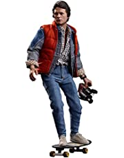 Hot Toys Back To The Future Marty Mcfly Movie Masterpieces 1:6 Scale Action Figure
