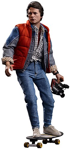 Hot Toys Back to the Future Marty McFly Movie Masterpieces 1:6 Scale Action Figure]()