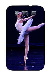 Eatcooment Sanp On Case Cover Protector For Galaxy S3 (ballerina) For Christmas Day's Gift