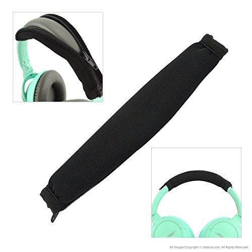 Headband Cover for Bose SoundTrue Around-Ear, On-Ear Style Headphones/Headband Protector/Replacement Headband Cushion Pad Repair Parts/Easy DIY Installation No Tool Needed