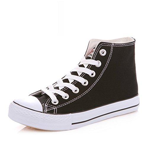 Zapatillas Primavera,Blanco Zapatos Flat-bottom,Estudiante Alta Clásica Pareja Zapatos,Zapatos Deportivos K