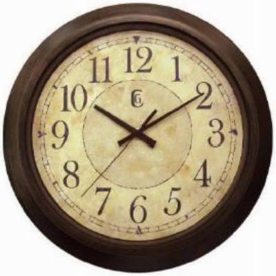 Amazon.com: Bronze Wall Clock: Home & Kitchen