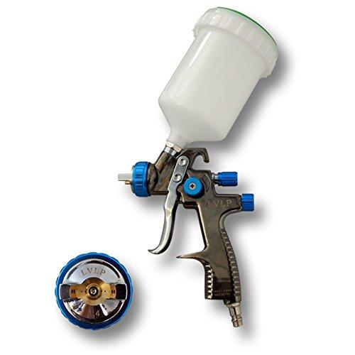 LVLP Lackierpistole Spritzpistole Sprühpistole mit 1,4 mm Düse