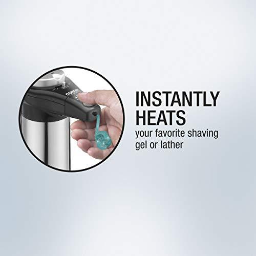 Conair Gel & Lather Heating System, Chrome