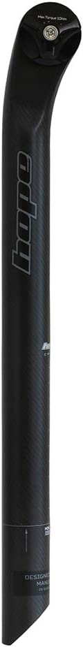 Hope Carbon Seatpost 30.9mm x 400mm Black Elliptical Rails Brand New