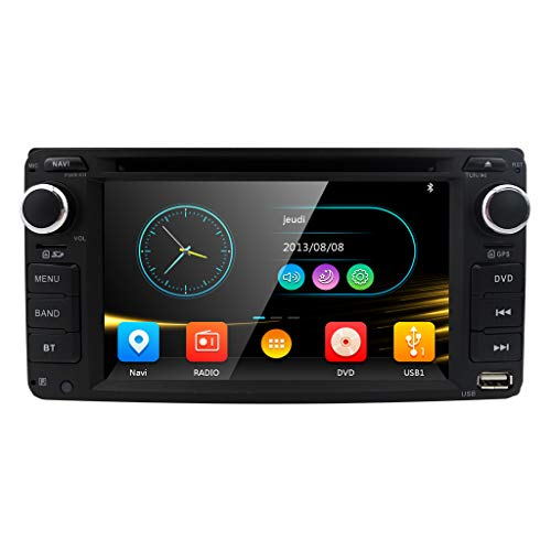 Double 2 Din Car GPS DVD Player for Toyota Camry Corolla RAV4 4Runner Hilux Tundra Celica Auris Radio 6.2 Inch in Dash GPS Navigation