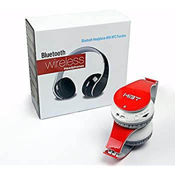 Bluetooth Headphones with NFC Function On the Ear Wireless Bluetooth Headset for Samsung Android Smart Cell Phone Apple Phone and Tablet PC
