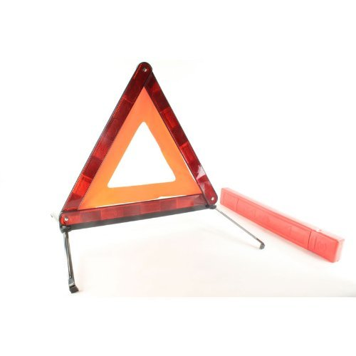 Warning Triangle Reflector Kit Street Safety Hazard Sign Road Highway Freeway - Highway Street Sign